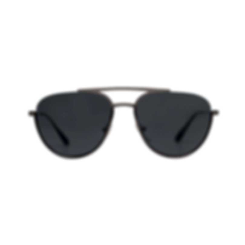 Prada Silver And Gray Men's Metal Sunglasses PR50US-5AV5S0