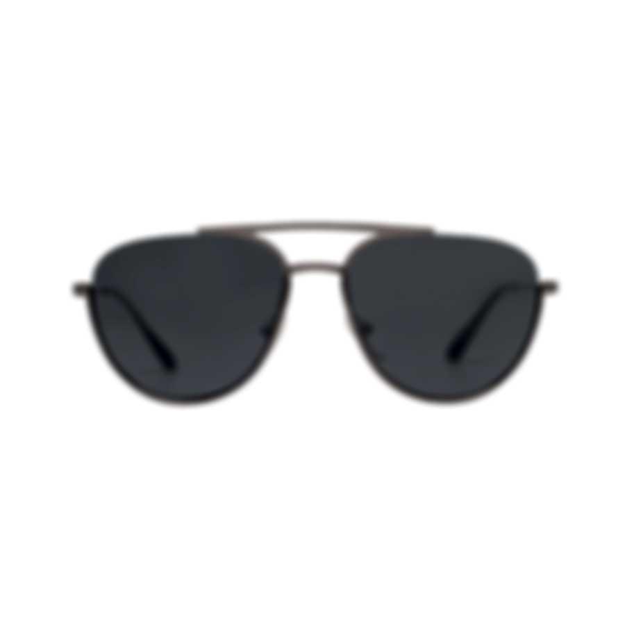 Prada Silver And Gray Men's Metal Sunglasses PR50US-5AV5S0