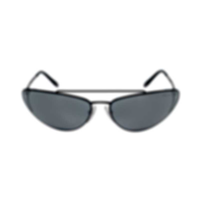 Prada Black And Gray Women's Metal Sunglasses PR62VS-1AB5L0