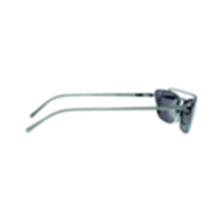 Prada Silver And Pink Women's Metal Sunglasses PR64US-1BC338