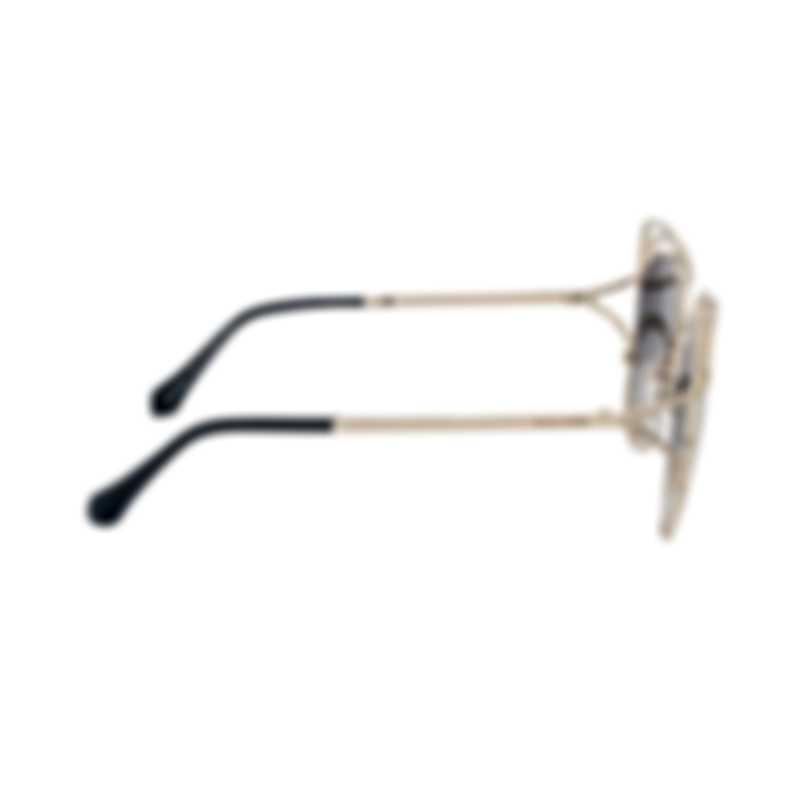 Roberto Cavalli Women's Gold Smoke Sunglasses RC109032C