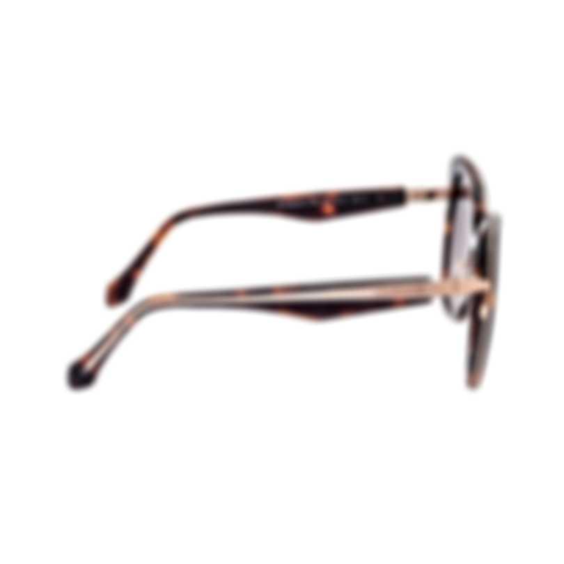 Roberto Cavalli Women's Dark Havana Sunglasses RC109352G