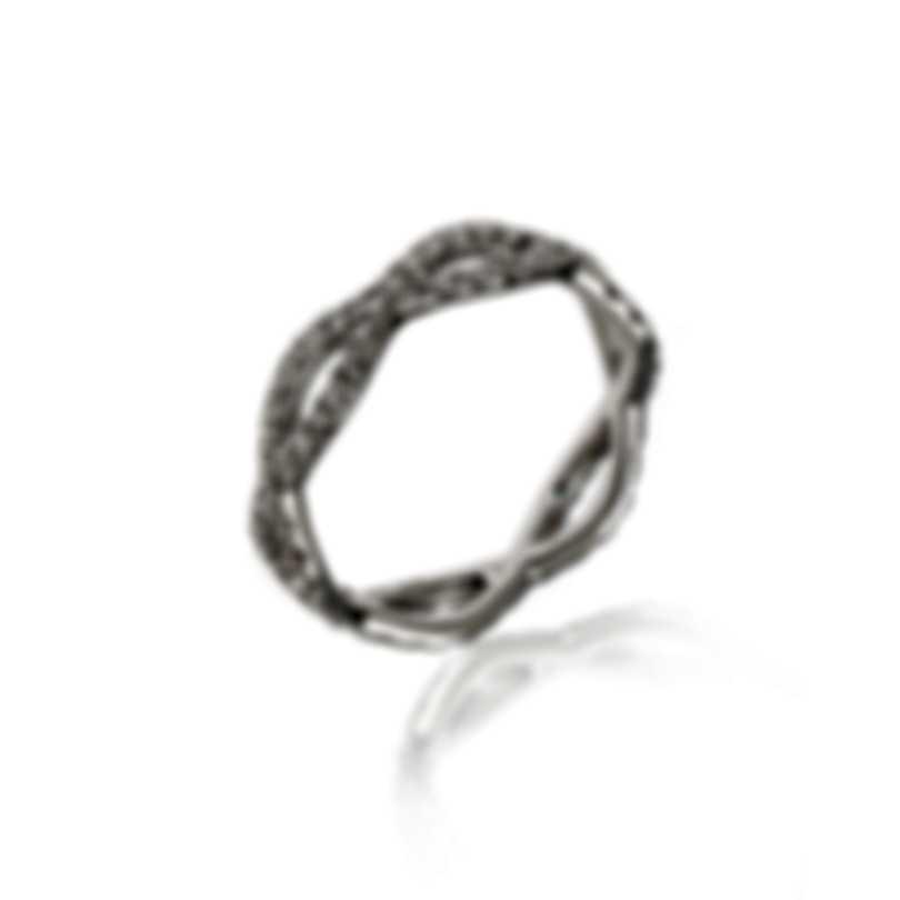 Roberto Coin 18k White Gold Diamond 0.7ct Ring Sz 6.25 000072AW65X0
