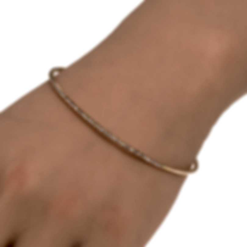 Roberto Coin Classic 18k Rose Gold Diamond 0.67ct Bracelet 000370AXBAX0
