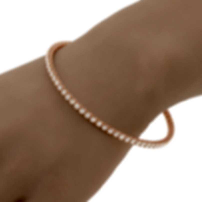 Roberto Coin Dia 18k Rose Gold Diamond 5.50ct Bracelet 000850AXBAXM