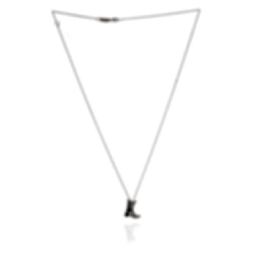 Roberto Coin 18k White Gold Diamond(0.11ct Twd.)Necklace 000996AWCHX0