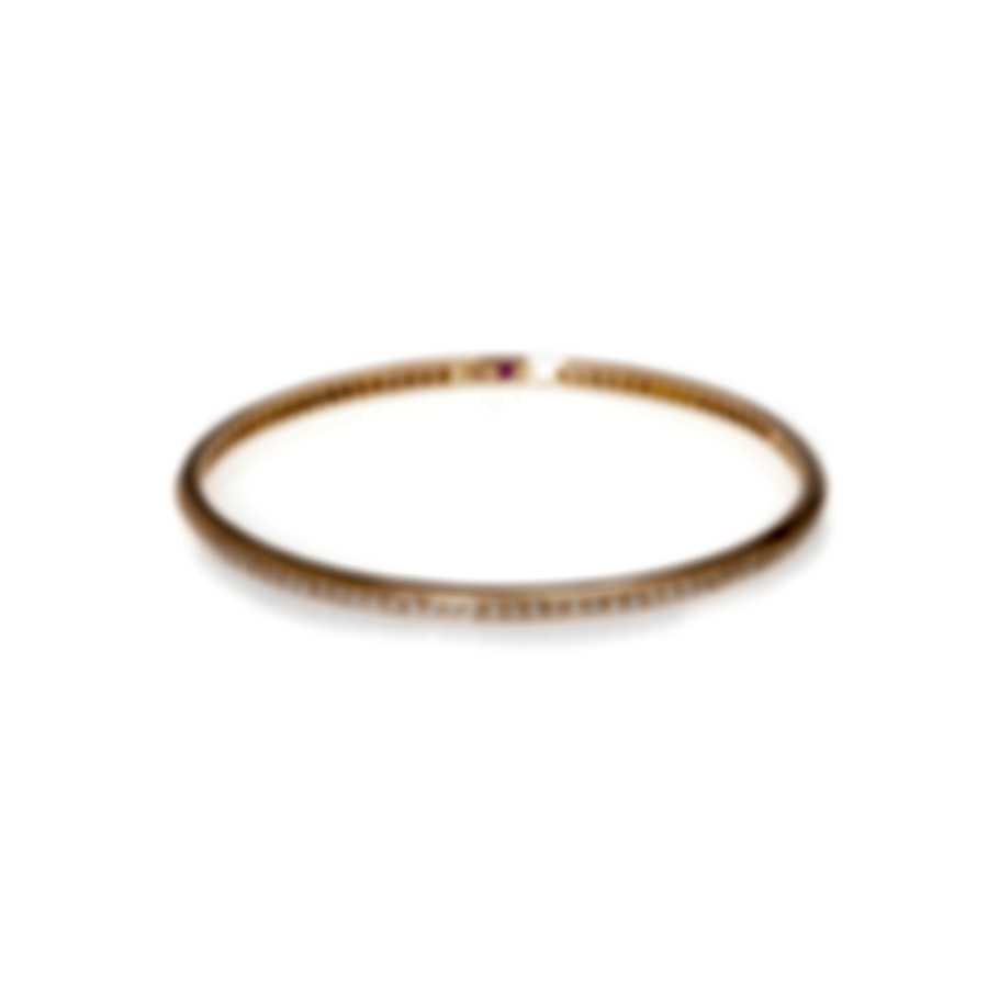 Roberto Coin Classic 18k Rose Gold Diamond 2.06ct Bracelet 001149AXBAX0