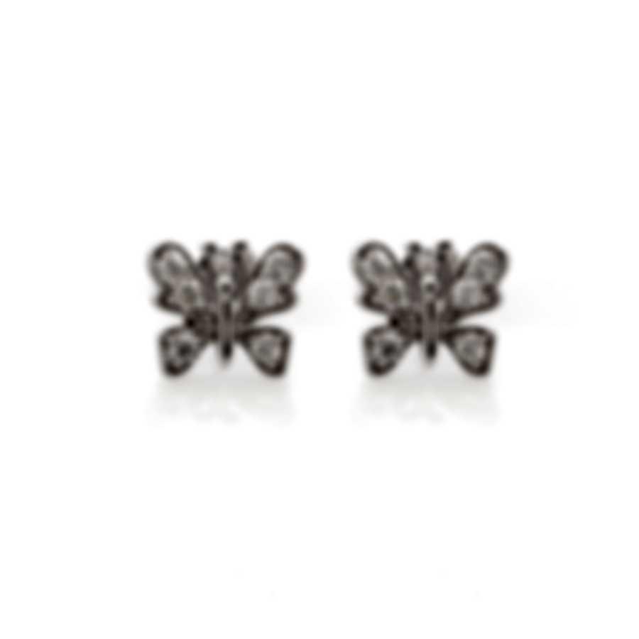 Roberto Coin 18k White Gold Diamond 0.7ct Earrings 111060AWERX0