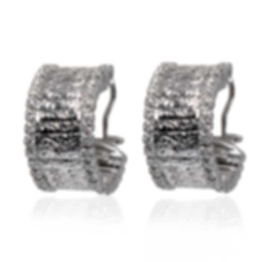 Roberto Coin 18k White Gold Diamond 0.90ct Earrings 273488AWERD0