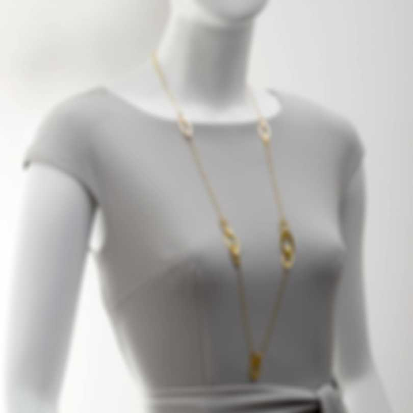 Roberto Coin Chic & Shine 18k Yellow Gold Necklace 295592AY3700