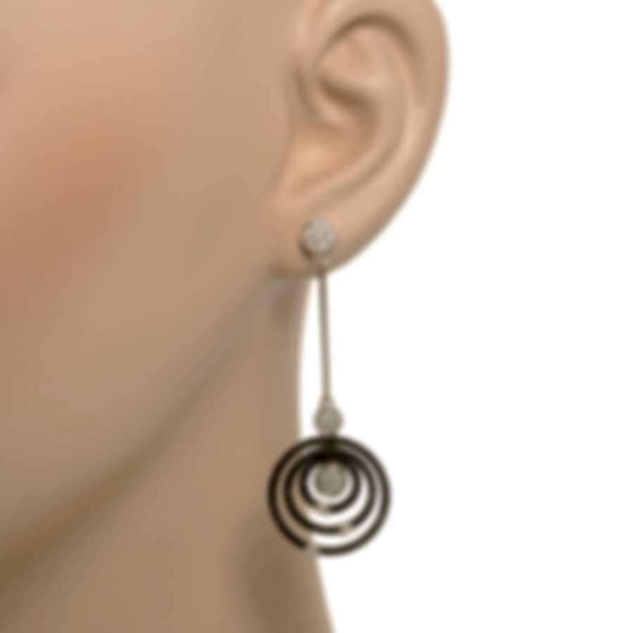 Roberto Coin 18k White Gold Diamond 1.95ct Earrings 211717AWERBD
