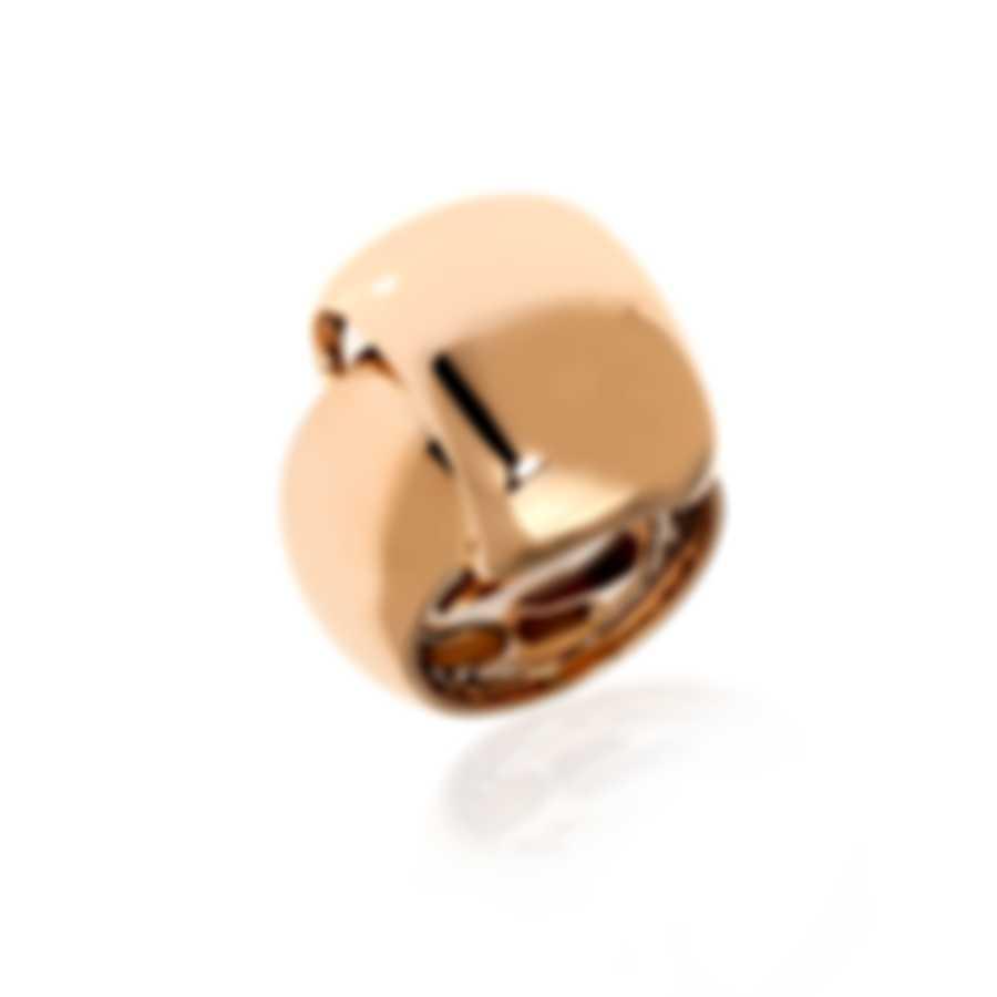 Roberto Coin 18k Rose Gold Ring Sz 6 342967AX6500