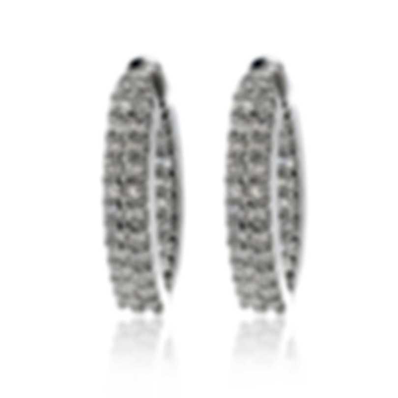 Roberto Coin 18k White Gold Diamond Earrings 356057AWERD0