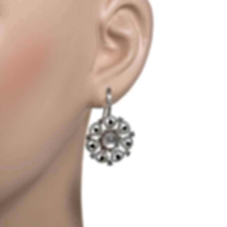 Roberto Coin Margherita 18k White Gold Diamond 1.88ct MOP Earrings 449361AWERJX