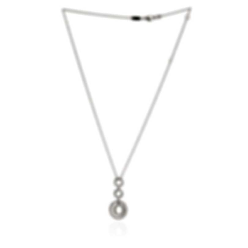 Roberto Coin 18k White Gold Diamond(0.35ct Twd.)Necklace 400040AWCHX0