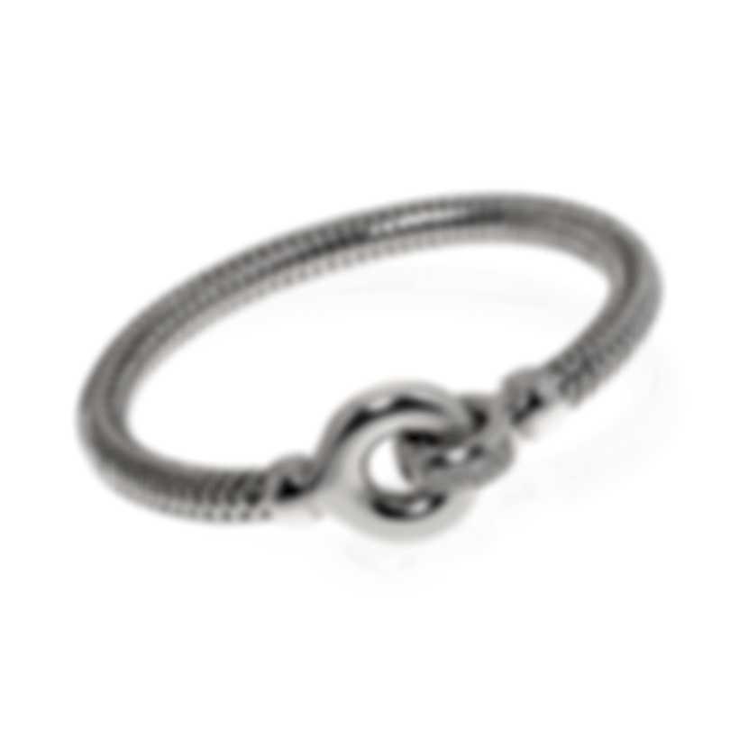 Roberto Coin Primavera 18k White Gold Diamond 0.10ct Bracelet 557815AWBAX0