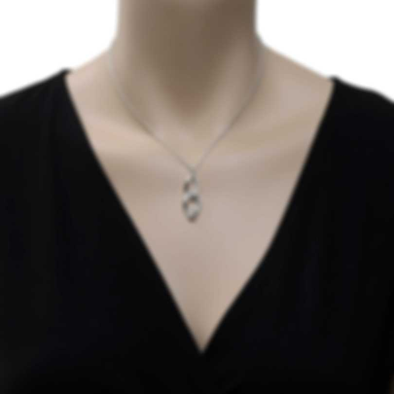 Roberto Coin 18k White Gold Diamond 1.15ct Necklace 518207AWCHX0