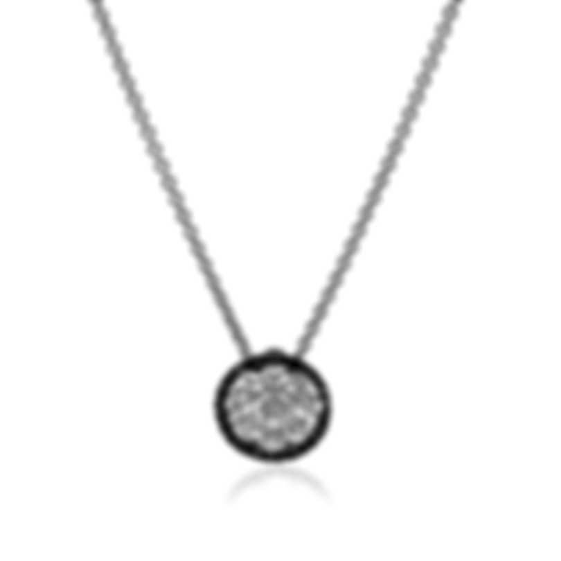 Roberto Coin 18k White Gold Diamond 0.56ct Necklace 519070AWCHBD