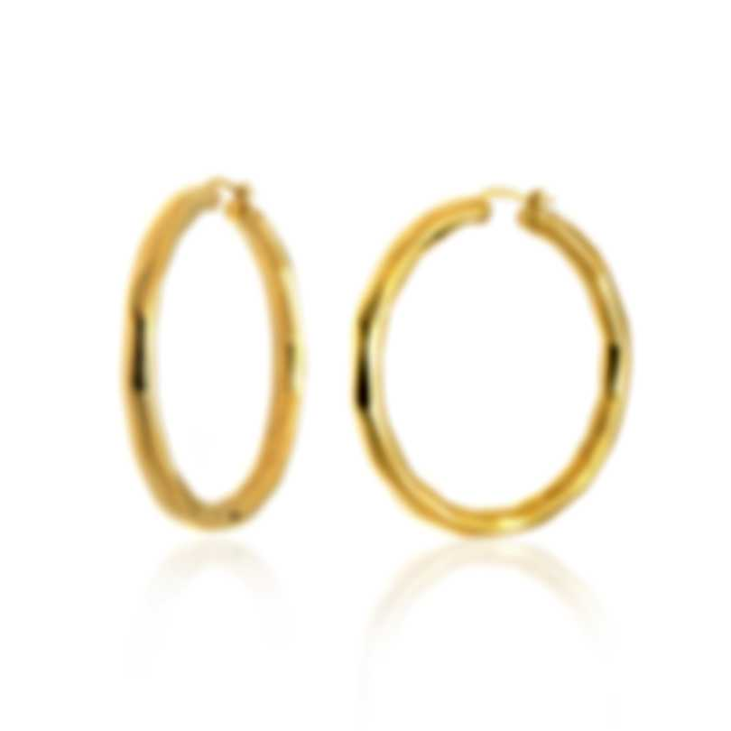 Roberto Coin Oro Classic 18k Yellow Gold Earrings 6740617AYER0