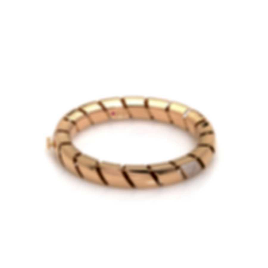 Roberto Coin Torchon 18k Rose Gold Diamond(0.48ct Twd.)Bracelet 7771412AXBAX