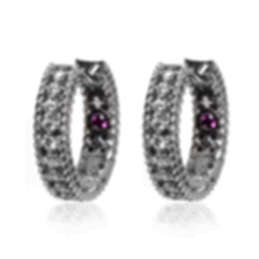 Roberto Coin Symphony 18k White Gold Diamond 0.20ct Earrings 7771554AWERX