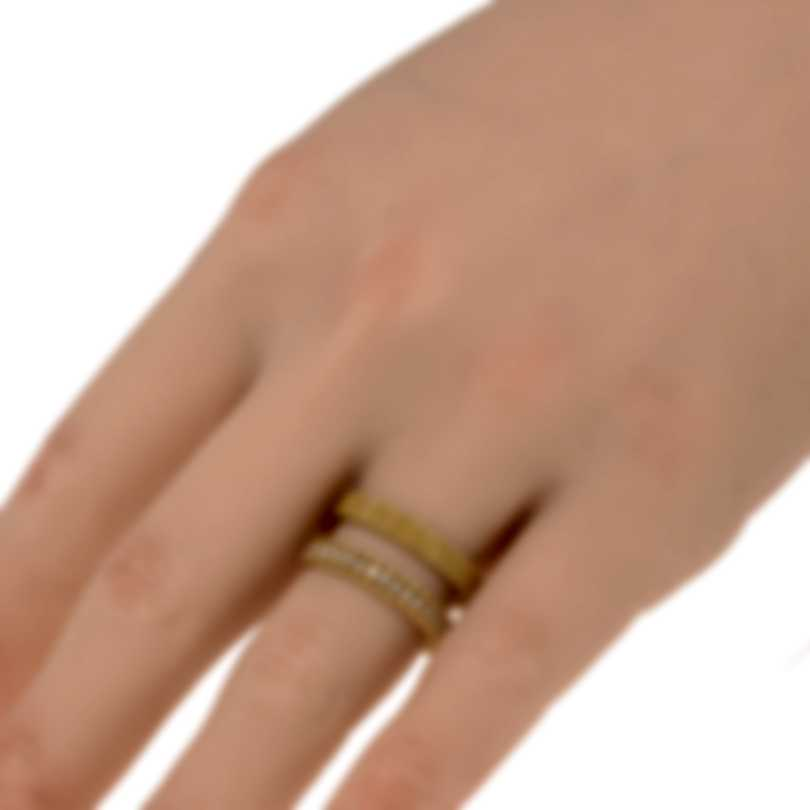 Roberto Coin Symphony 18k Yellow Gold Diamond 0.30ct Ring Sz 6.5 7771642AY65X