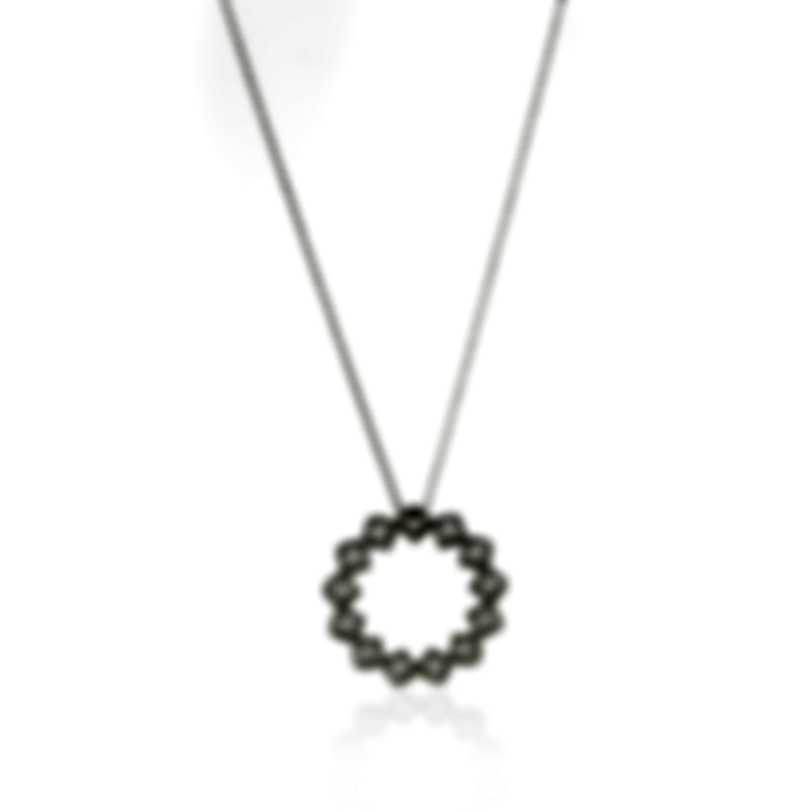 Roberto Coin Roman Barocco 18k White Gold Diamond 0.29ct Necklace 7771650AW18X
