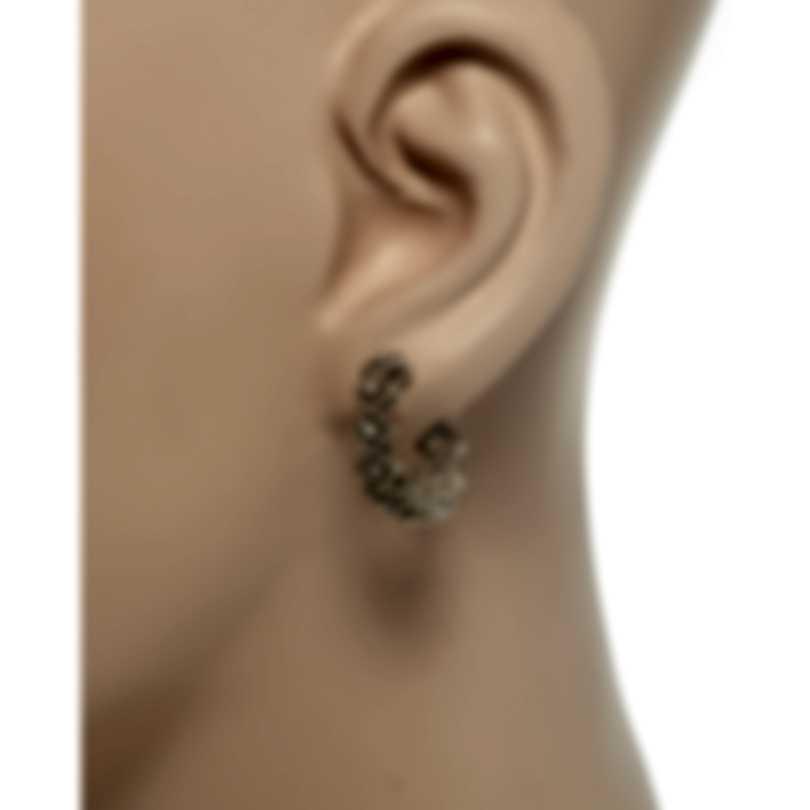 Roberto Coin Roman Barocco 18k White Gold Diamond 0.15ct Earrings 7771652AWERX