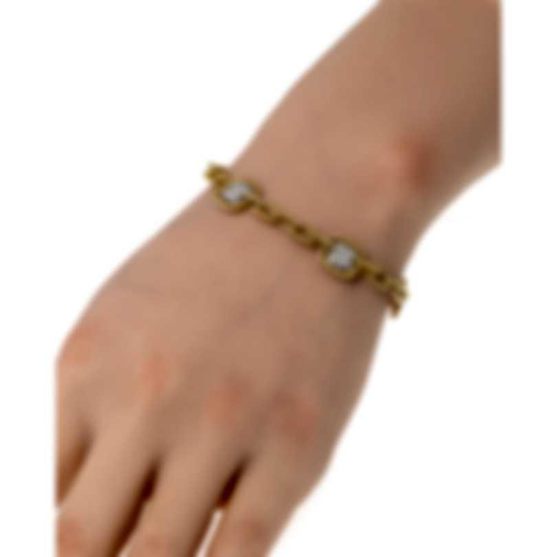 Roberto Coin Barocco 18k Yellow Gold Diamond 1.30ct Bracelet 7771660AJLBX