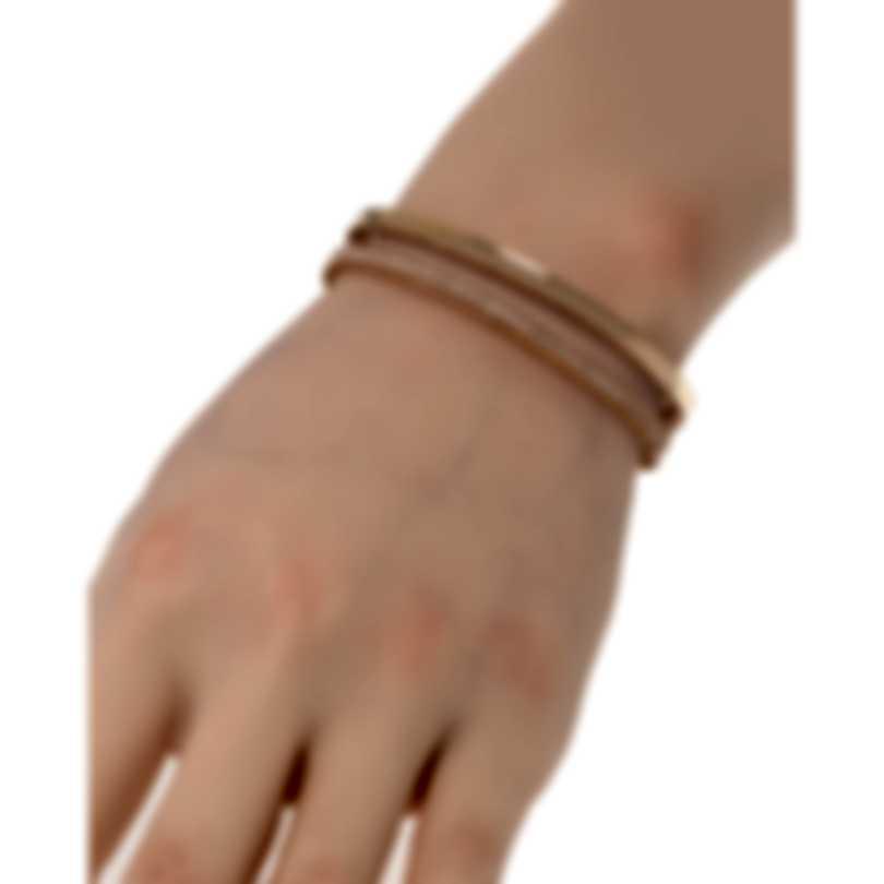 Roberto Coin Symphony Princess 18k Rose Gold Diamond Bracelet 7771682AXBAX