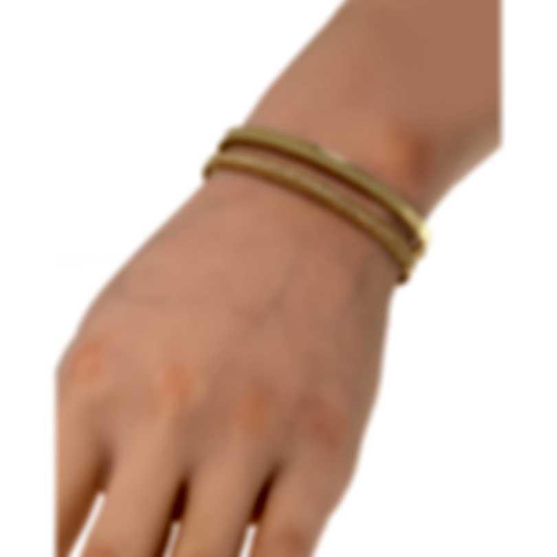 Roberto Coin Symphony Princess 18k Yellow Gold Diamond 0.64ct Bracelet 7771682AYBAX