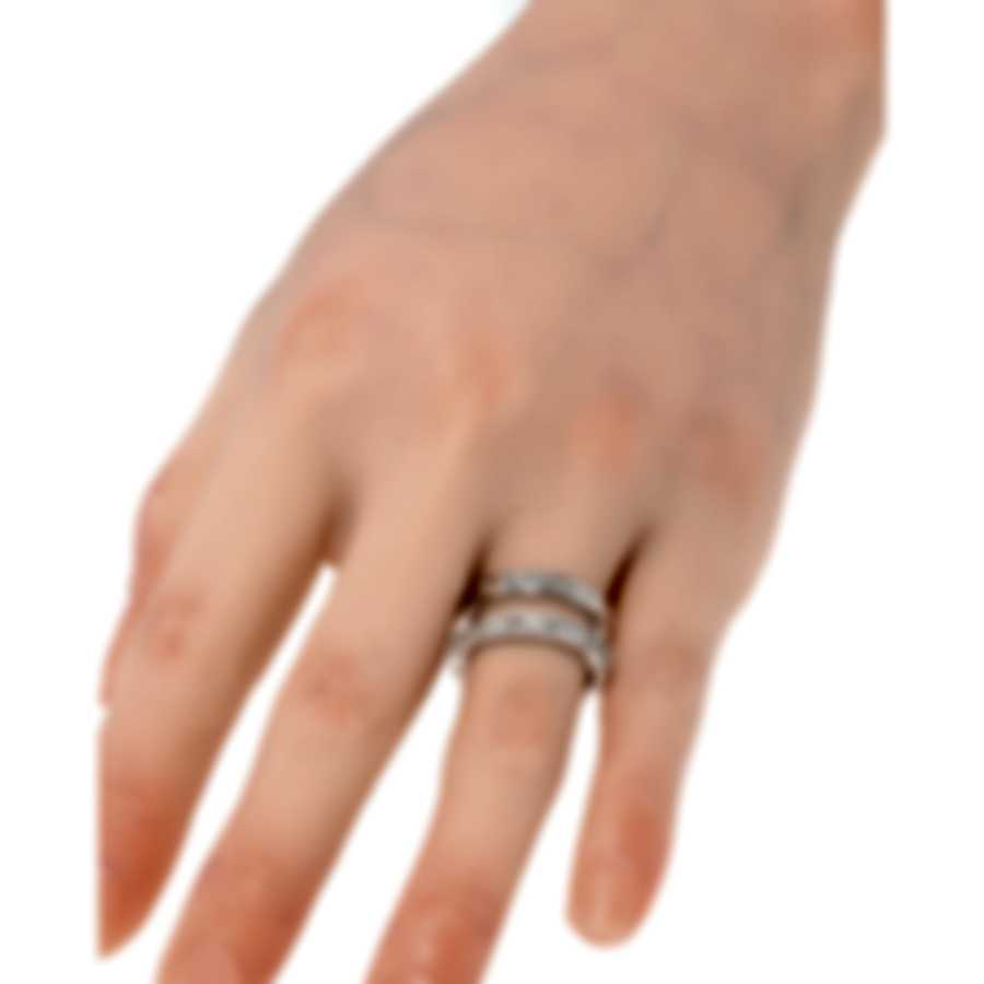 Roberto Coin Symphony 18k White Gold Diamond 0.47ct Ring Sz 6.5 7771692AW70X