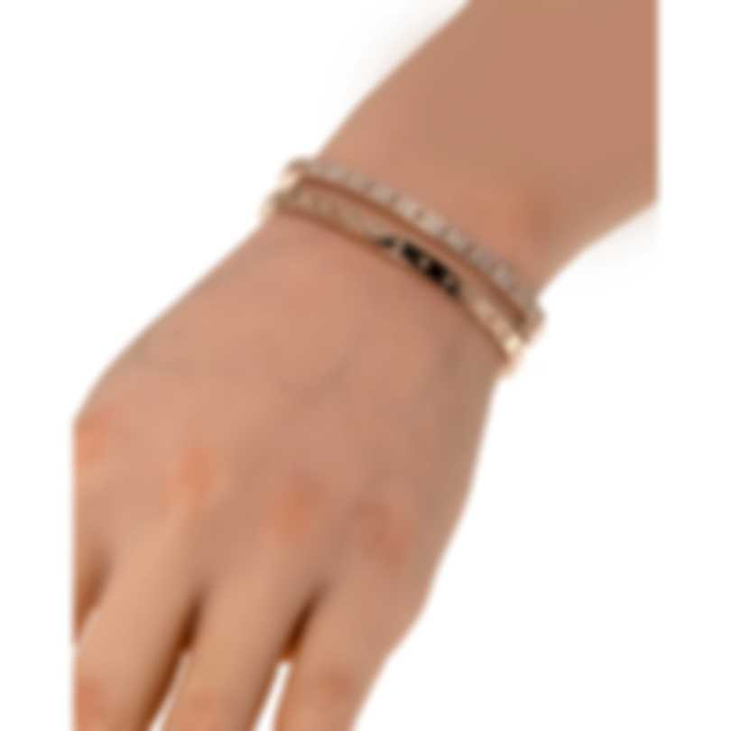Roberto Coin Womens Symphony 18k Rose Gold Diamond 1.05ct Bracelet 7771692AXBAX