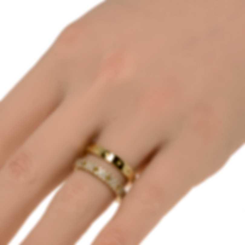 Roberto Coin Symphony 18k Yellow Gold Diamond 0.47ct Ring Sz 6 7771692AY60X