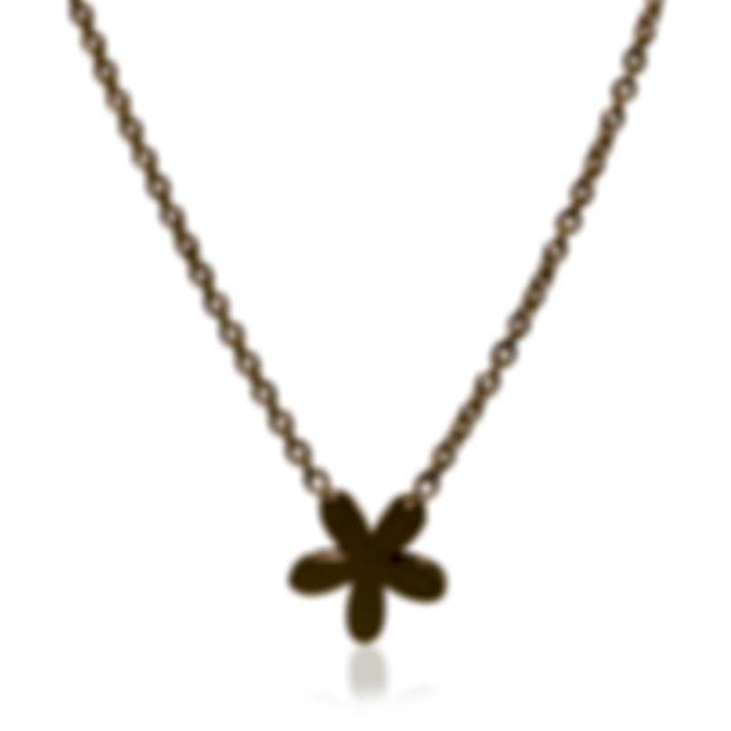 Roberto Coin Princess Flower 18k Yellow Gold Necklace 7771698AY160