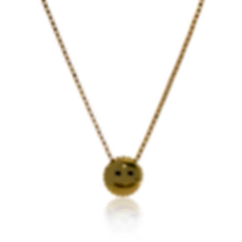 Roberto Coin Cool Emoji 18k Yellow Gold Necklace 7771795AY180