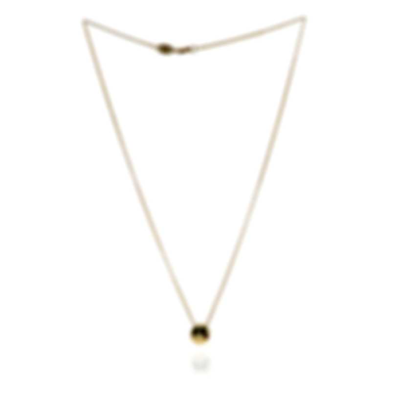 Roberto Coin Emoji 18k Yellow Gold Diamond(0.02ct Twd.)Necklace 7771796AY18X