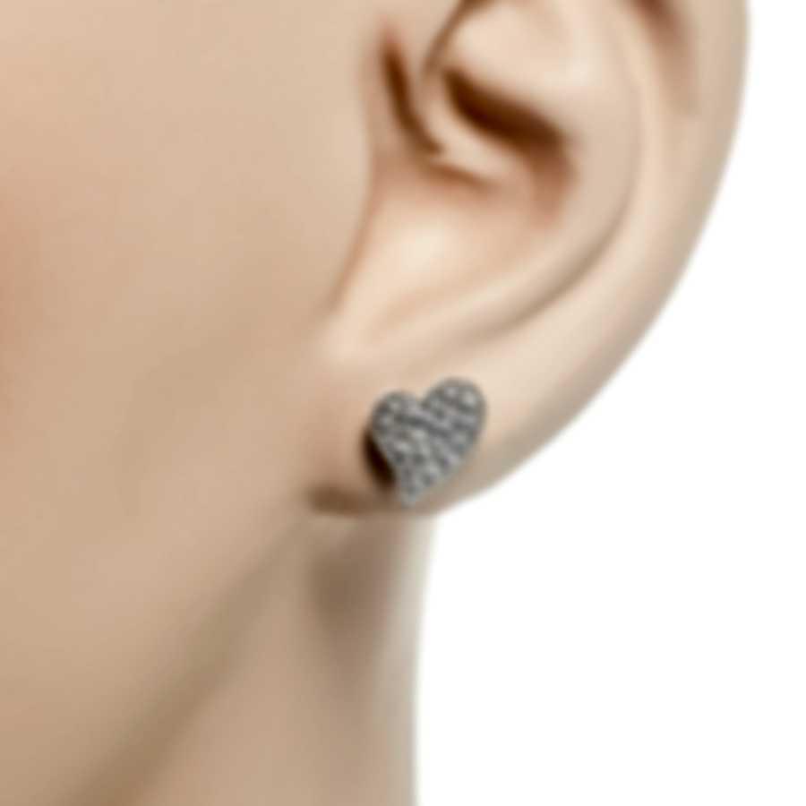 Roberto Coin Tiny Treasures 18k White Gold Diamond 0.35ct Earrings 7771863AWERX