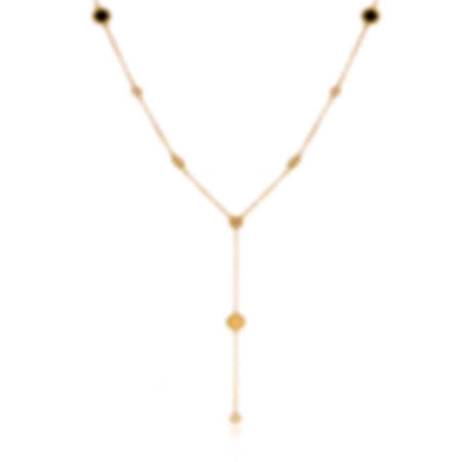 Roberto Coin New Barocco 18k Yellow Gold Diamond 0.24ct Necklace 7771922AY16X