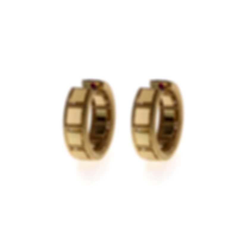 Roberto Coin Womens Roman Barocco 18k Yellow Gold Earrings 7771944AYER0
