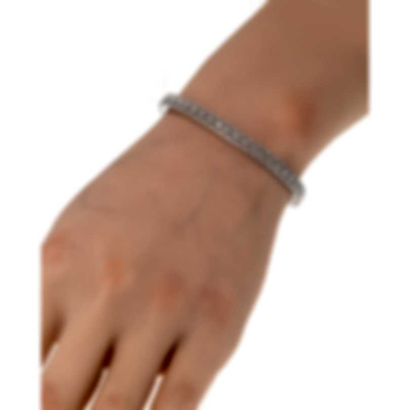 Roberto Coin Womens Barocco 18k White Gold Diamond 0.50ct Bracelet 7771946AWBAX