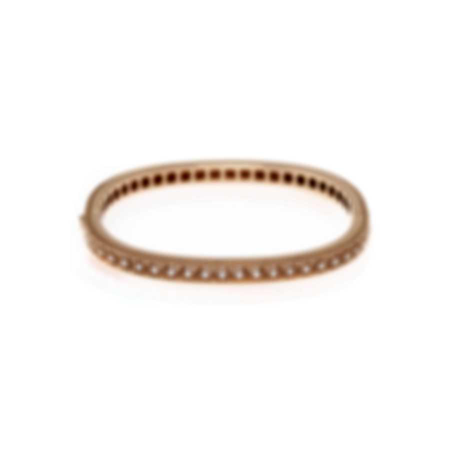 Roberto Coin Womens Barocco 18k Rose Gold Diamond 0.50ct Bracelet 7771946AXBAX