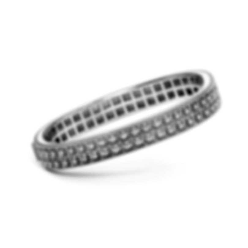 Roberto Coin Womens Barocco 18k White Gold Diamond 1.00ct Bracelet 7771947AWBAX
