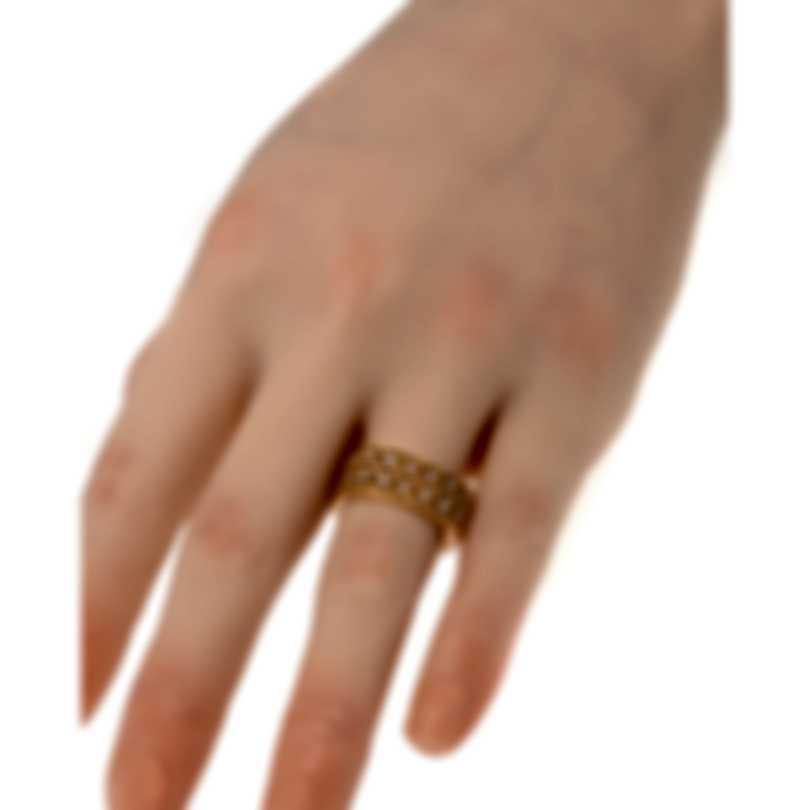 Roberto Coin Barocco 18k Rose Gold Diamond 0.40ct Ring Sz 6.5 7771947AX65X