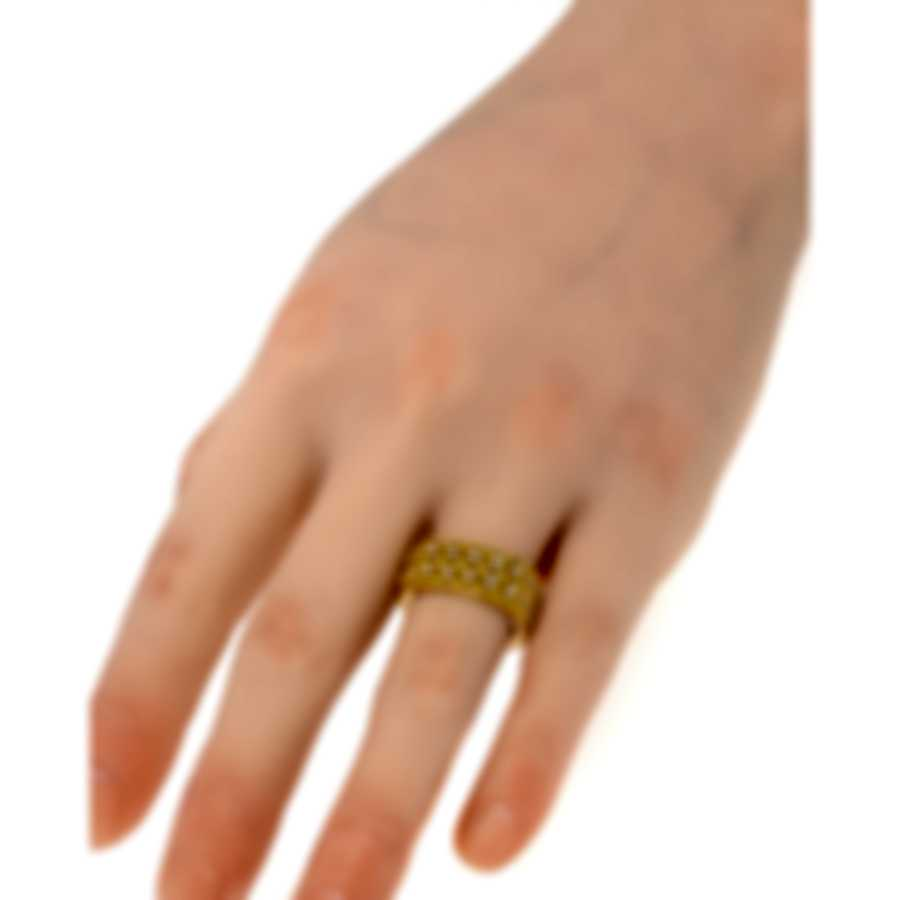 Roberto Coin Barocco 18k Yellow Gold Diamond 0.40ct Ring Sz 6.5 7771947AY65X
