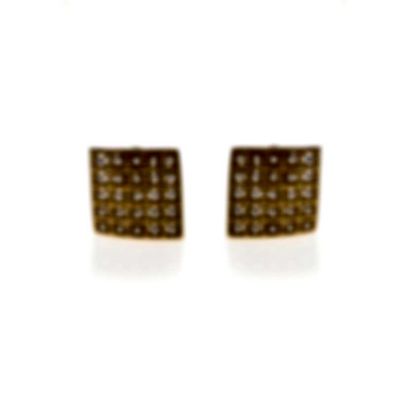 Roberto Coin Barocco 18k Yellow Gold Diamond 0.87ct Earrings 7771948AYERX