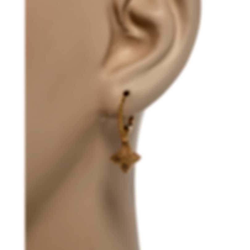Roberto Coin Womens Princess 18k Rose Gold Drop Earrings 7771974AXER0