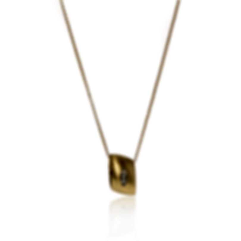 Roberto Coin Satin Golden Gate 18k Rose Gold Diamond Necklace 7771096AJCHX1
