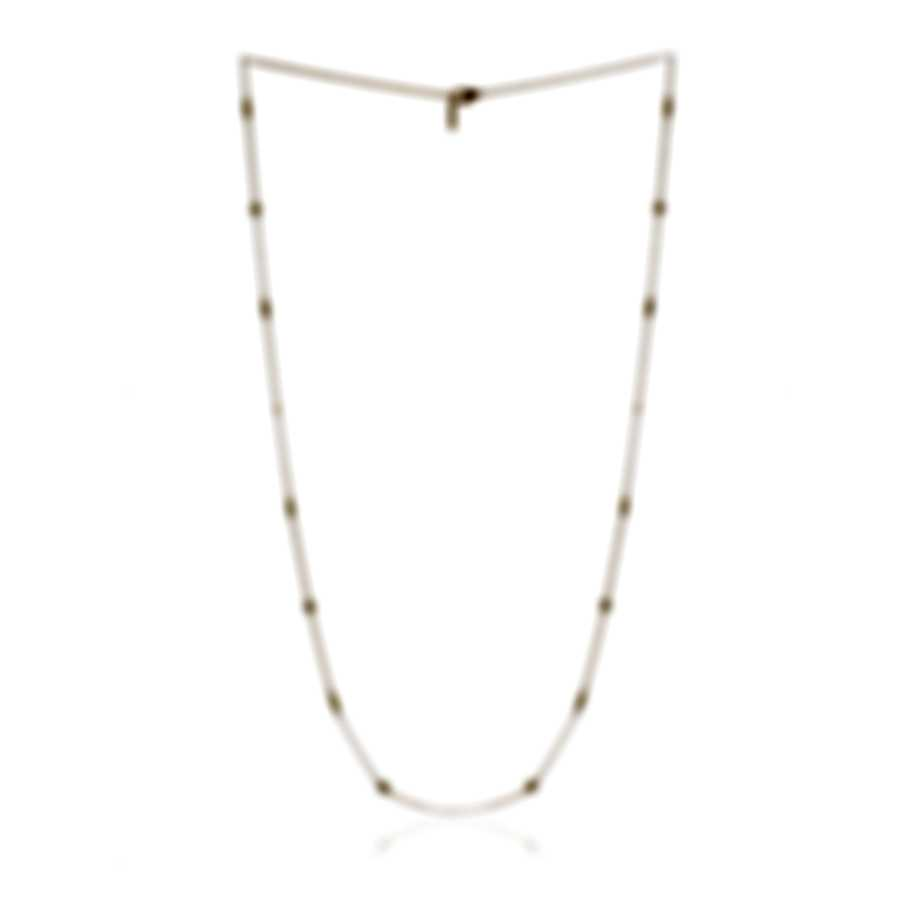 Roberto Coin Barocco 18k Yellow Gold Diamond(0.38ct Twd.)Necklace 7771251AY36X