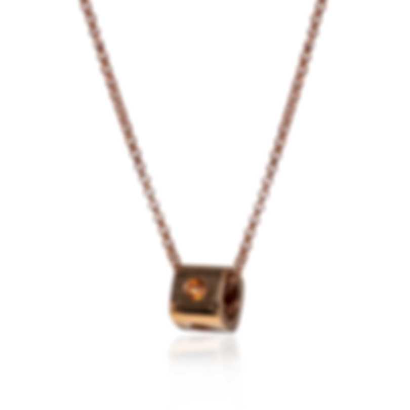 Roberto Coin Pois Moi 18k Rose Gold Necklace 7771292AXCH0